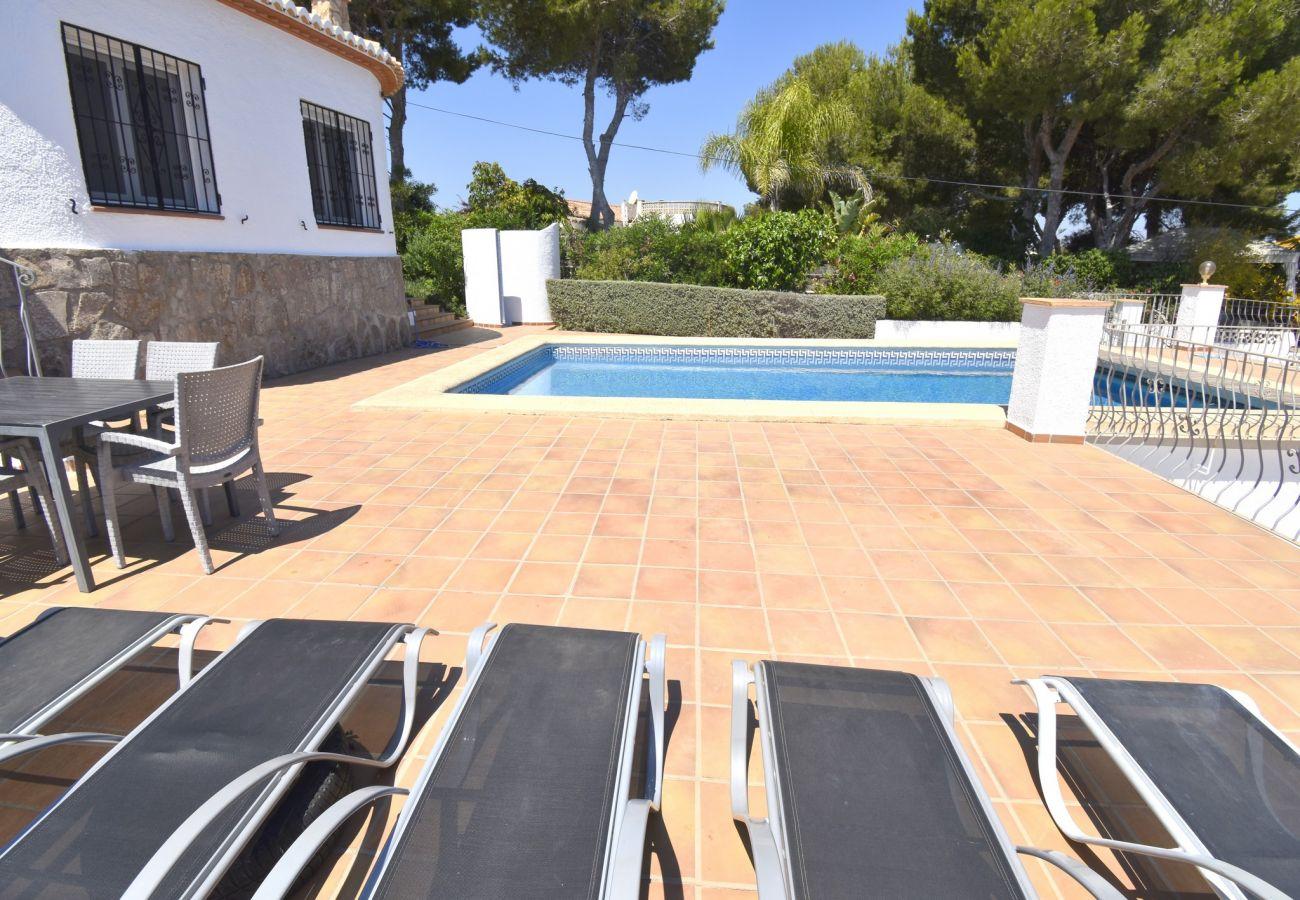 Chalet en Javea / Xàbia - Chalet en Javea vistas al mar piscina 10x5m mascotas permitidas