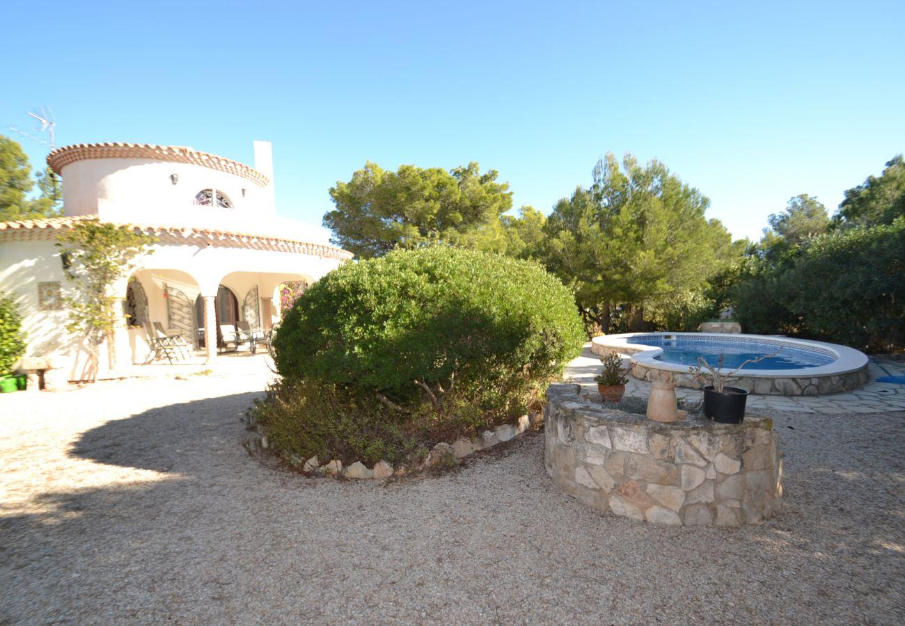 Villa en Ametlla de Mar - Villa Clovis:Piscina privada,jardín 800m2-Cerca calas-A/C,Wifi,Ropa gratis