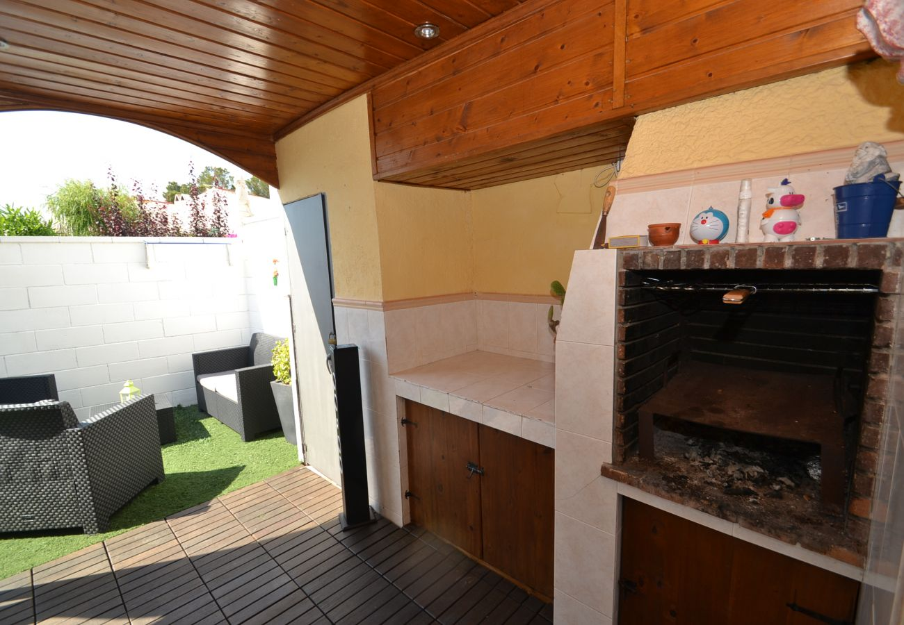 Villa en Miami Playa - Villa Casalot 7: Terraza privada-Cerca playas y calas Miami Playa-Piscina
