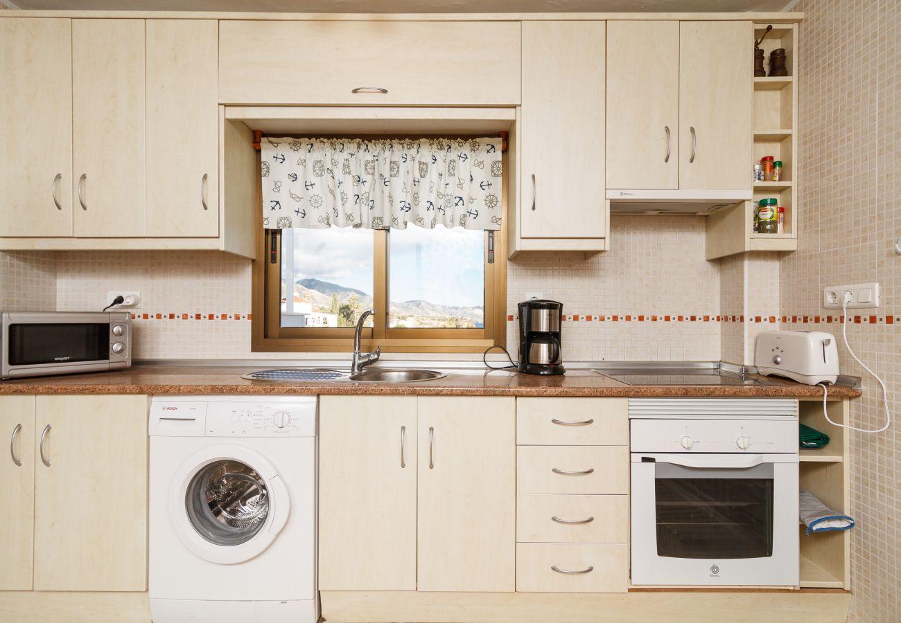 Apartamento en Nerja - Apartamento 3 dormitorios con vistas espectacular in Capistrano Playa 703 Burriana Nerja Casasol 534
