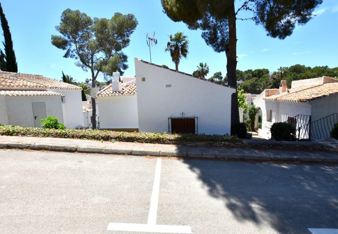 Chalet en Javea / Xàbia - Bungalow en Javea 4p piscina pista de tenis clima internet playa 400m