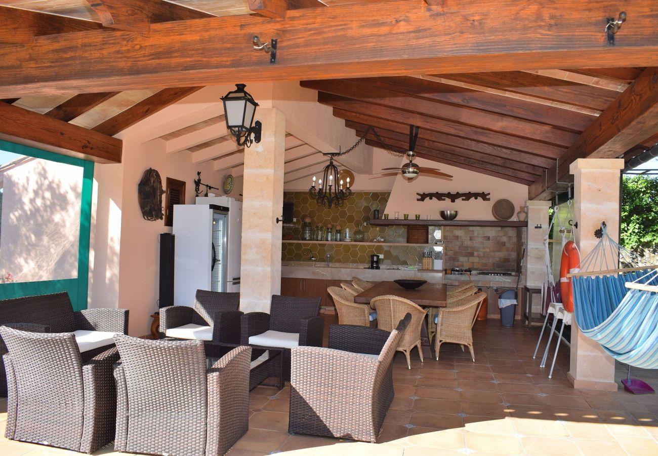 Finca en Manacor - Sa Font Vea Villa perfecta para grandes familias o para grupos 095