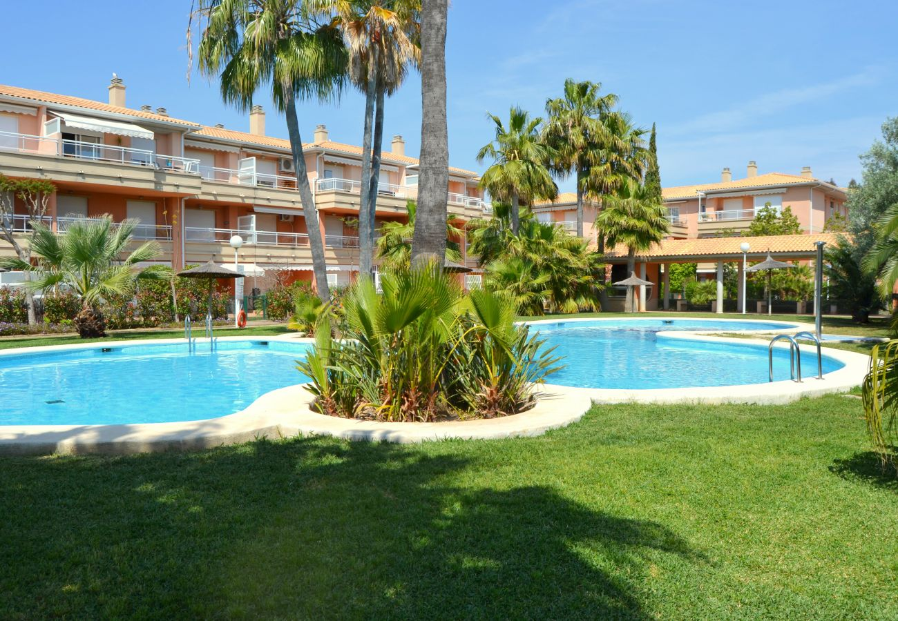 Apartamento en Javea / Xàbia - Piso en Javea 4p clima animales 2ª planta piscina playa 750m
