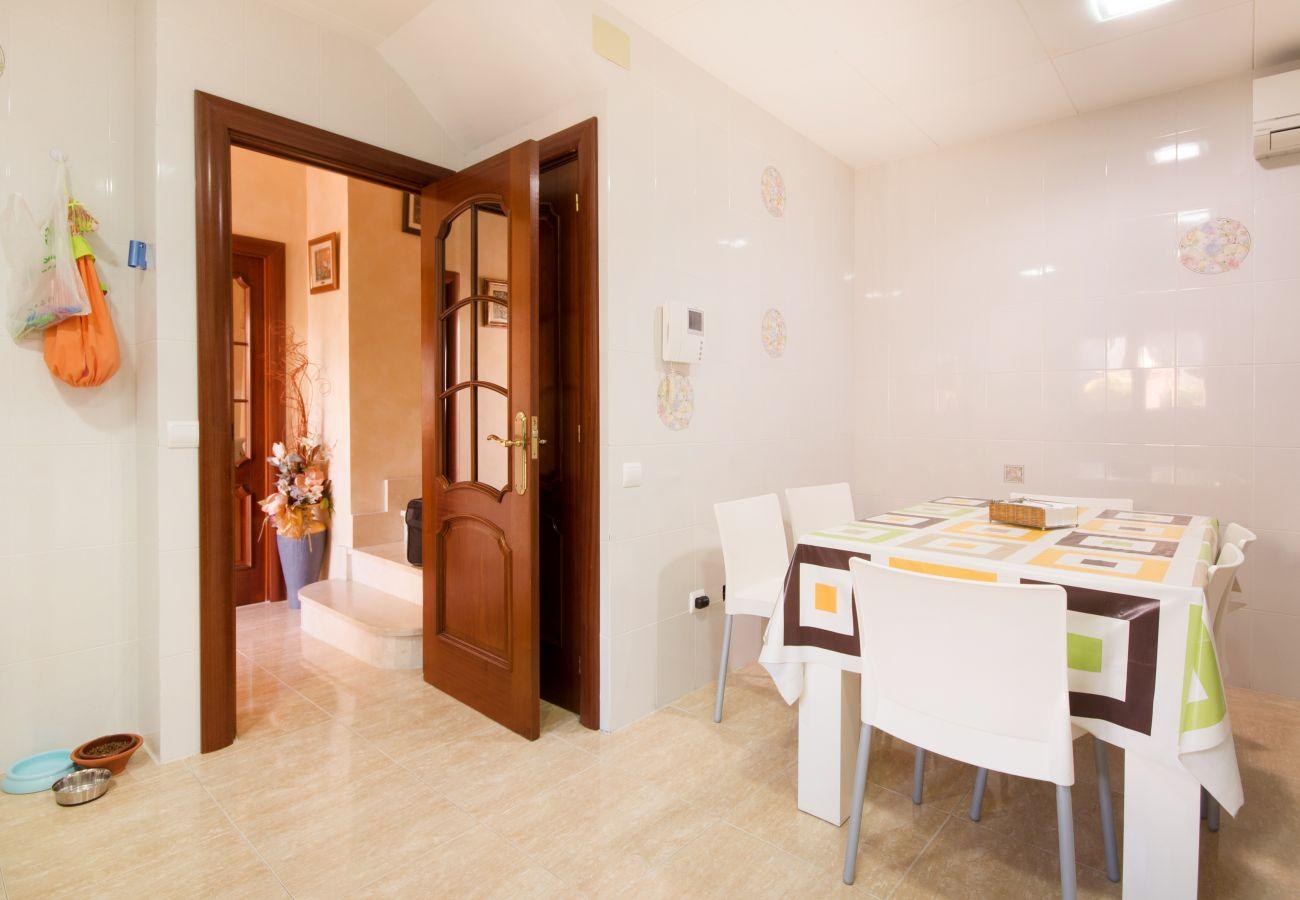 Villa en Calafell - R15 Chalet de 5 dormitorios con piscina 600m de la playa