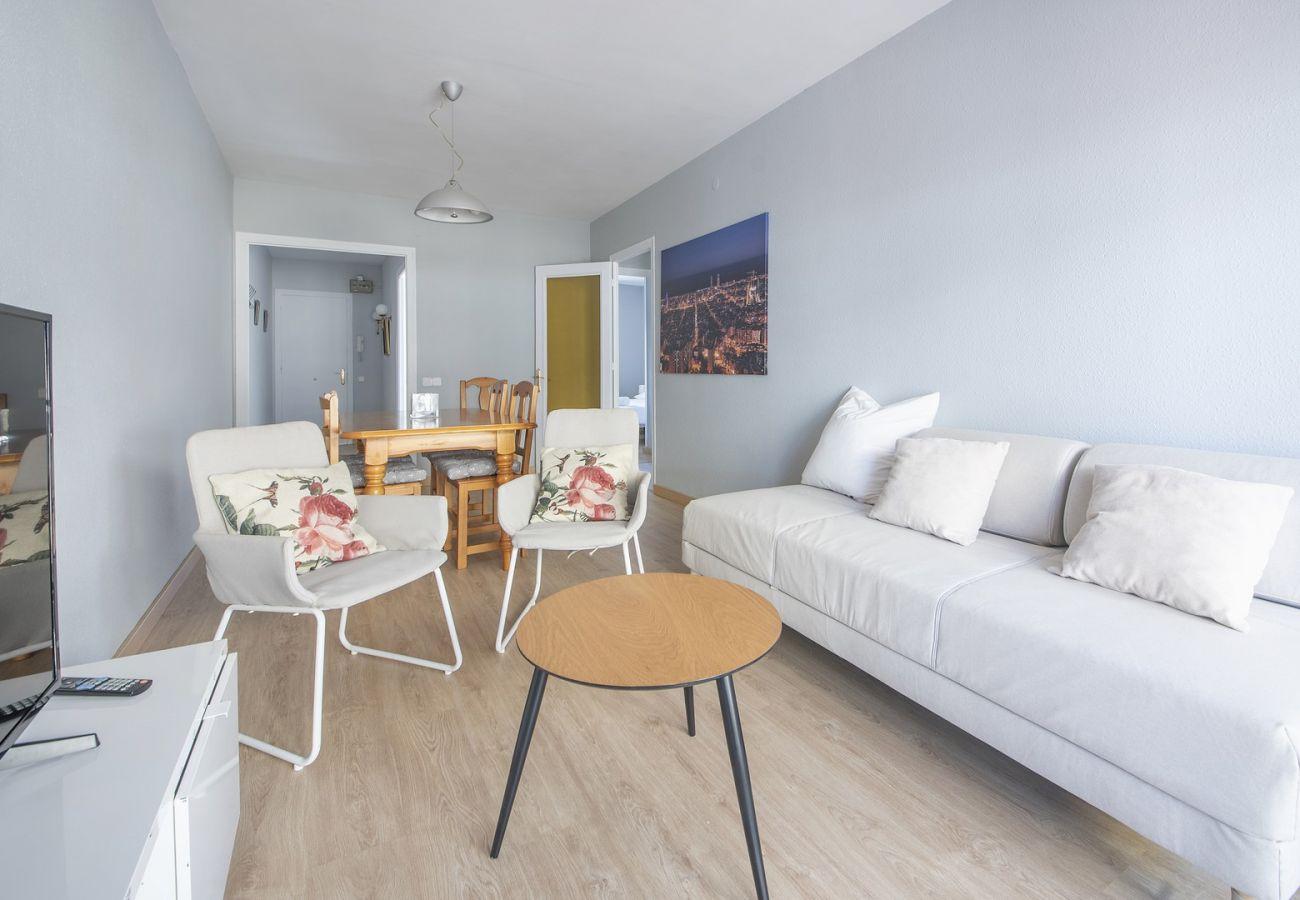 Apartamento en Calafell - R68-3 Apartamento de dos dormitorios 50 m de la playa