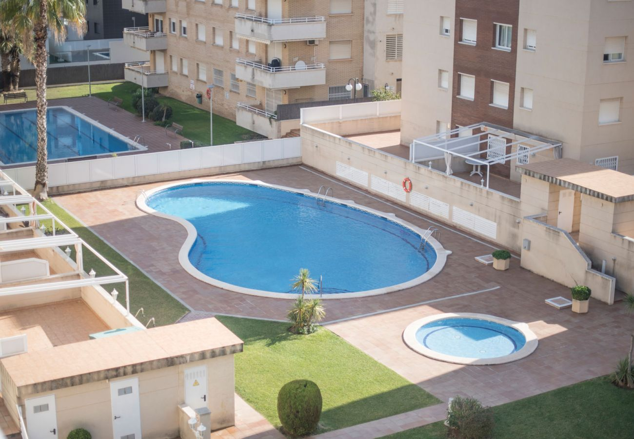 Apartamento en Calafell - Apartamento con terraza y vistas panorámicas