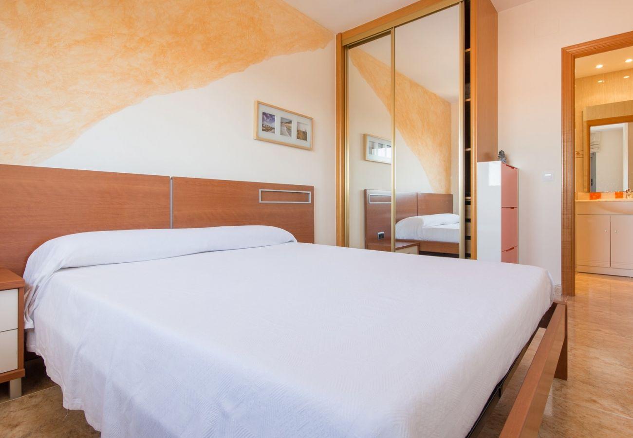 Apartamento en Calafell - R34 Atico con piscina y vistas panoramicas