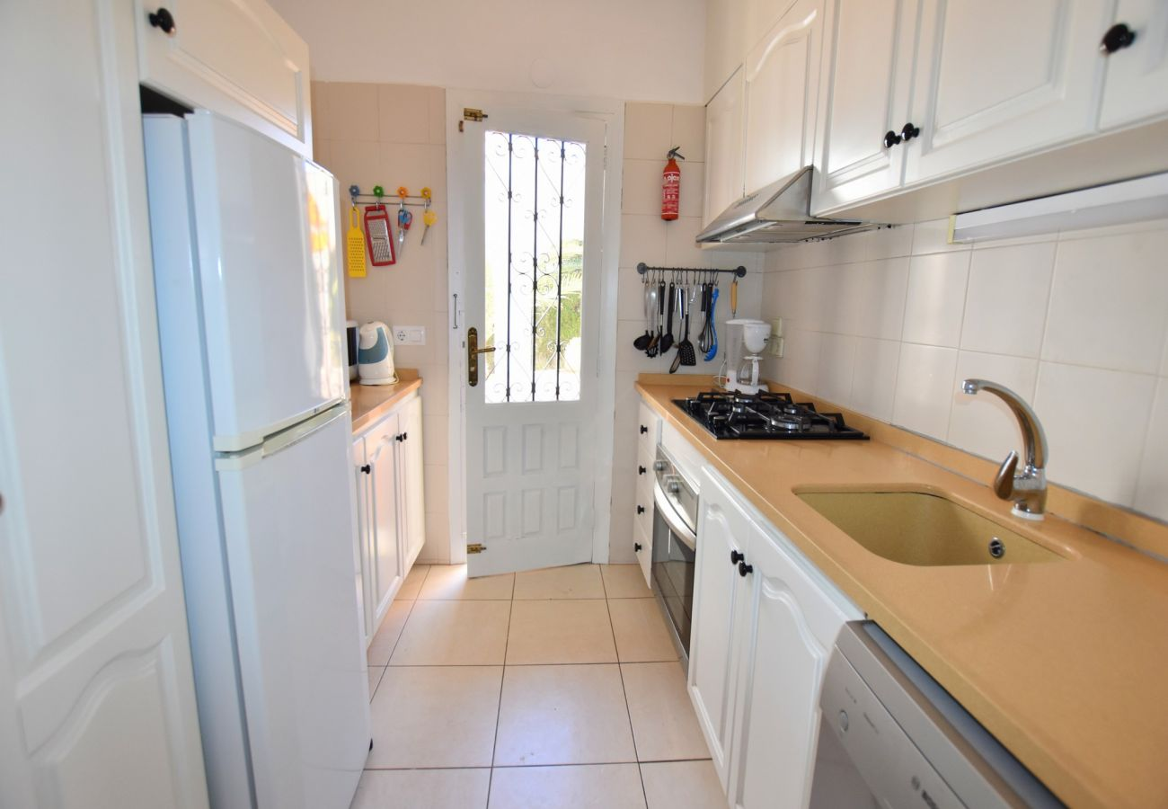 Chalet in Javea - Holidayhome in Javea 4p 8x4 pool Arenal beach at 7km
