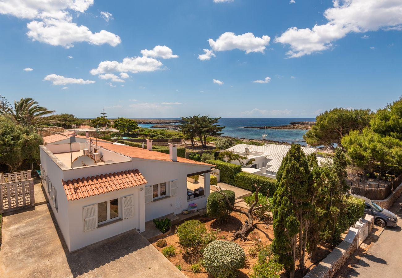 Stunning surroundings of the village of Binillor, on the Binisafuller coast of Menorca.