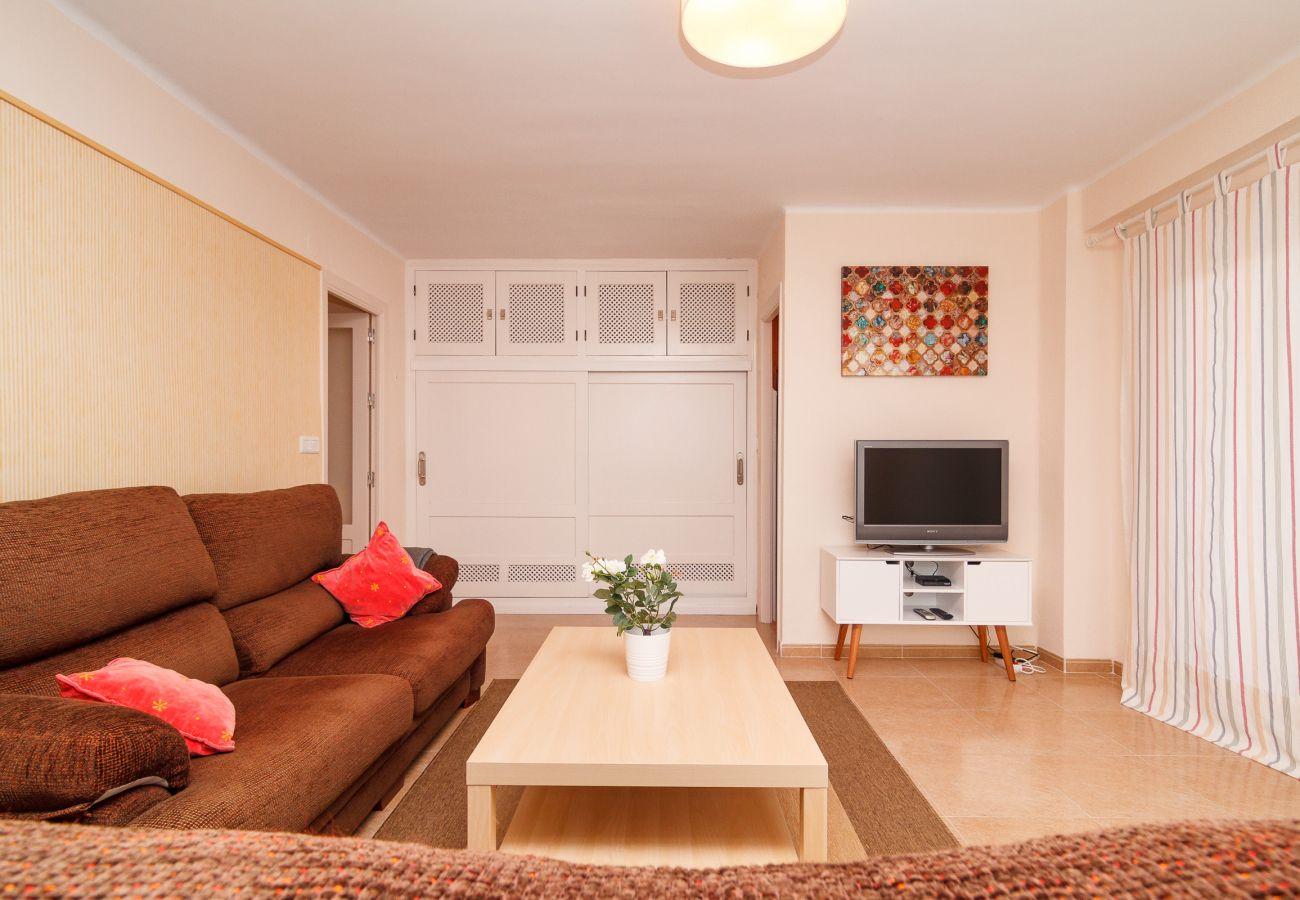 Apartment in Nerja - Apartment Tahiti in the area of Burriana Beach Nerja