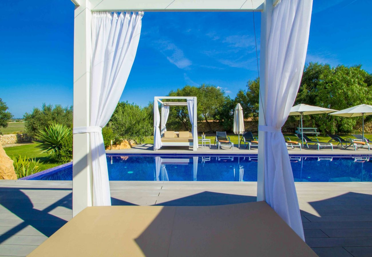 rom 100 € per day you can rent your villa in Mallorca