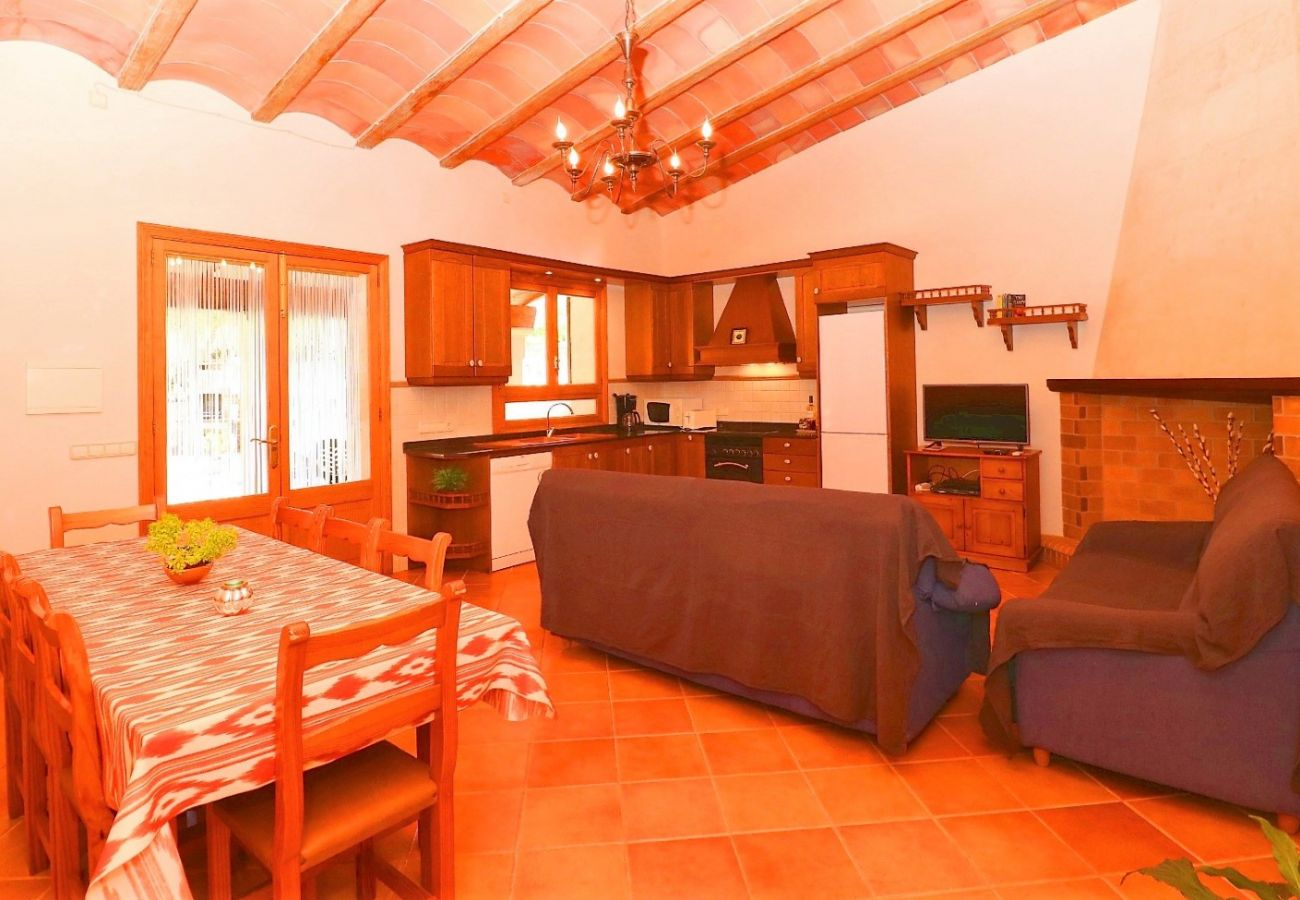 Country house in Campos - Can Guillem beautiful villa with pool in the middle of nature 415