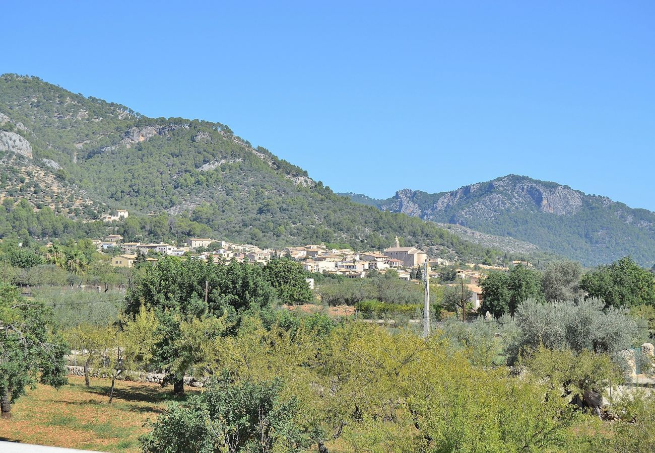 Country house in Caimari - Ca's Mestre  rustic villa with panoramic mountain views 058