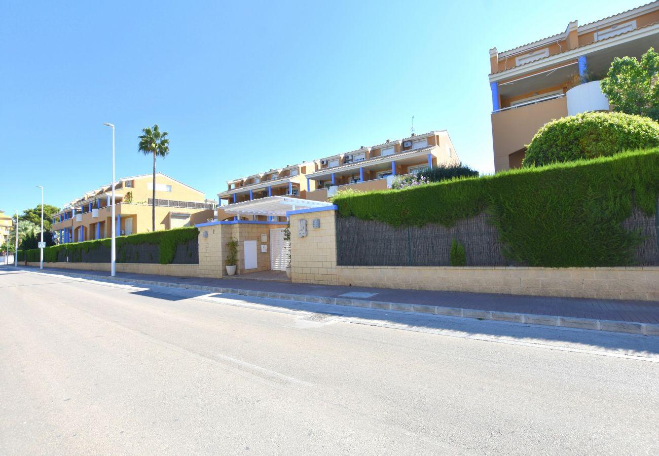 Apartment in Javea - Apartment in Javea 4p aircon pool sea at 100m
