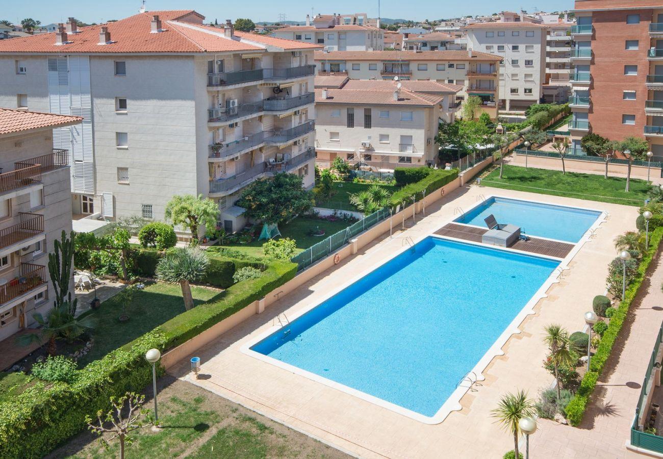 Apartment in Calafell - R34 Penthouse avec piscine et vue panoramique