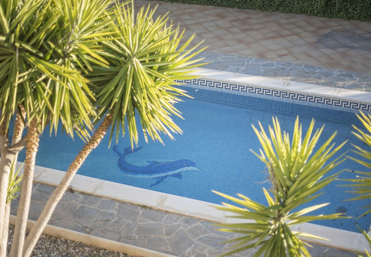Villa in Calafell - Holiday house for 8 people with panoramic views