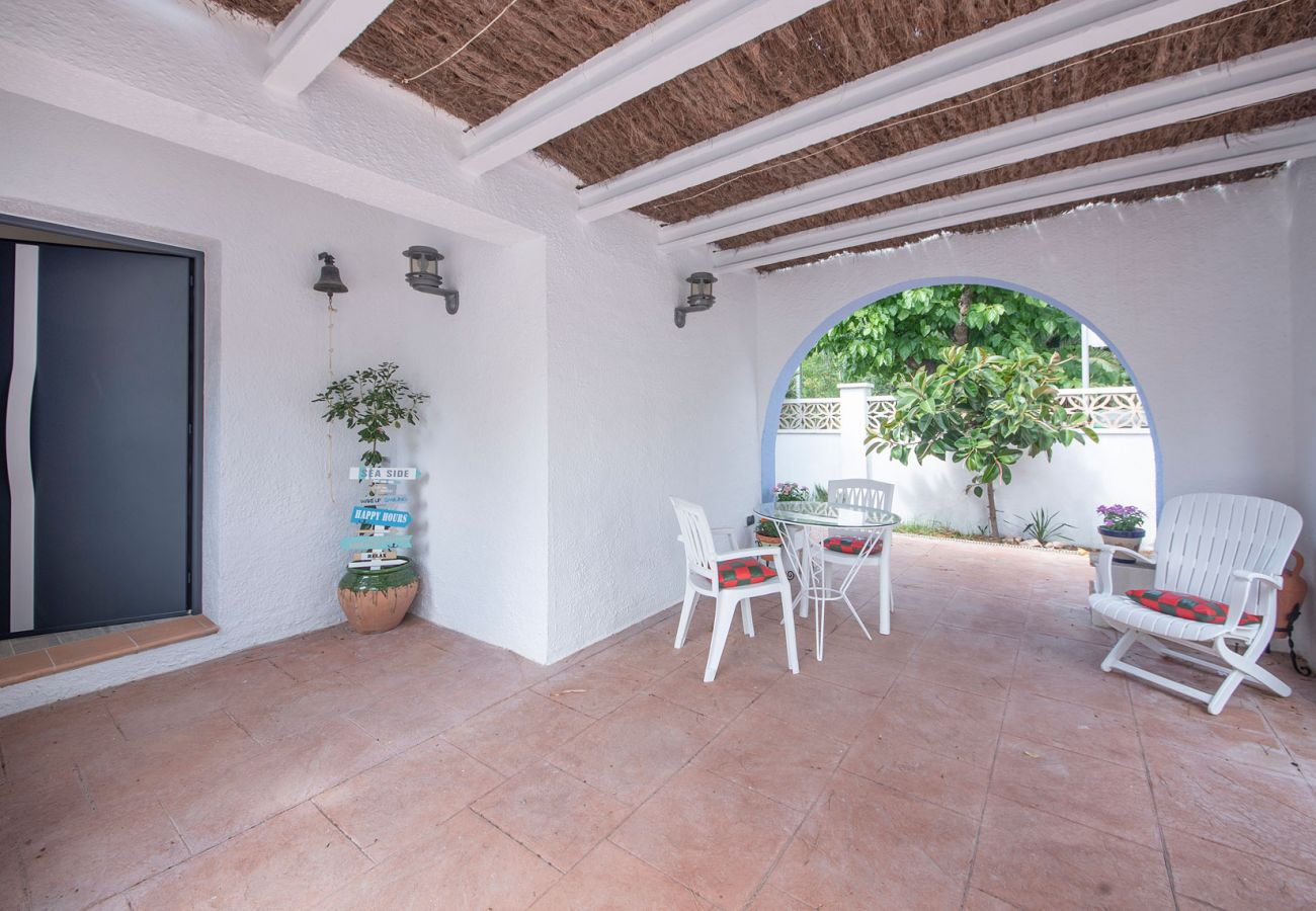 Villa in Calafell - R94 Spacious house on the ground floor with pool 50 m from the Calafell beach