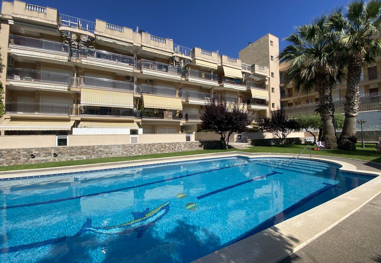 Apartment in Calafell - R123 Apartamento en la planta baja con piscina cerca de la playa