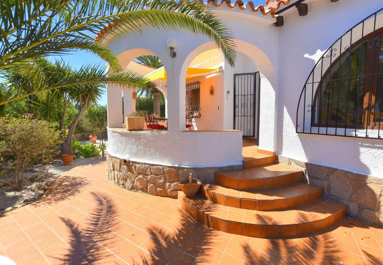 Chalet à Javea - Maison à Javea 4p piscine 8x4 plage Arenal à 7km