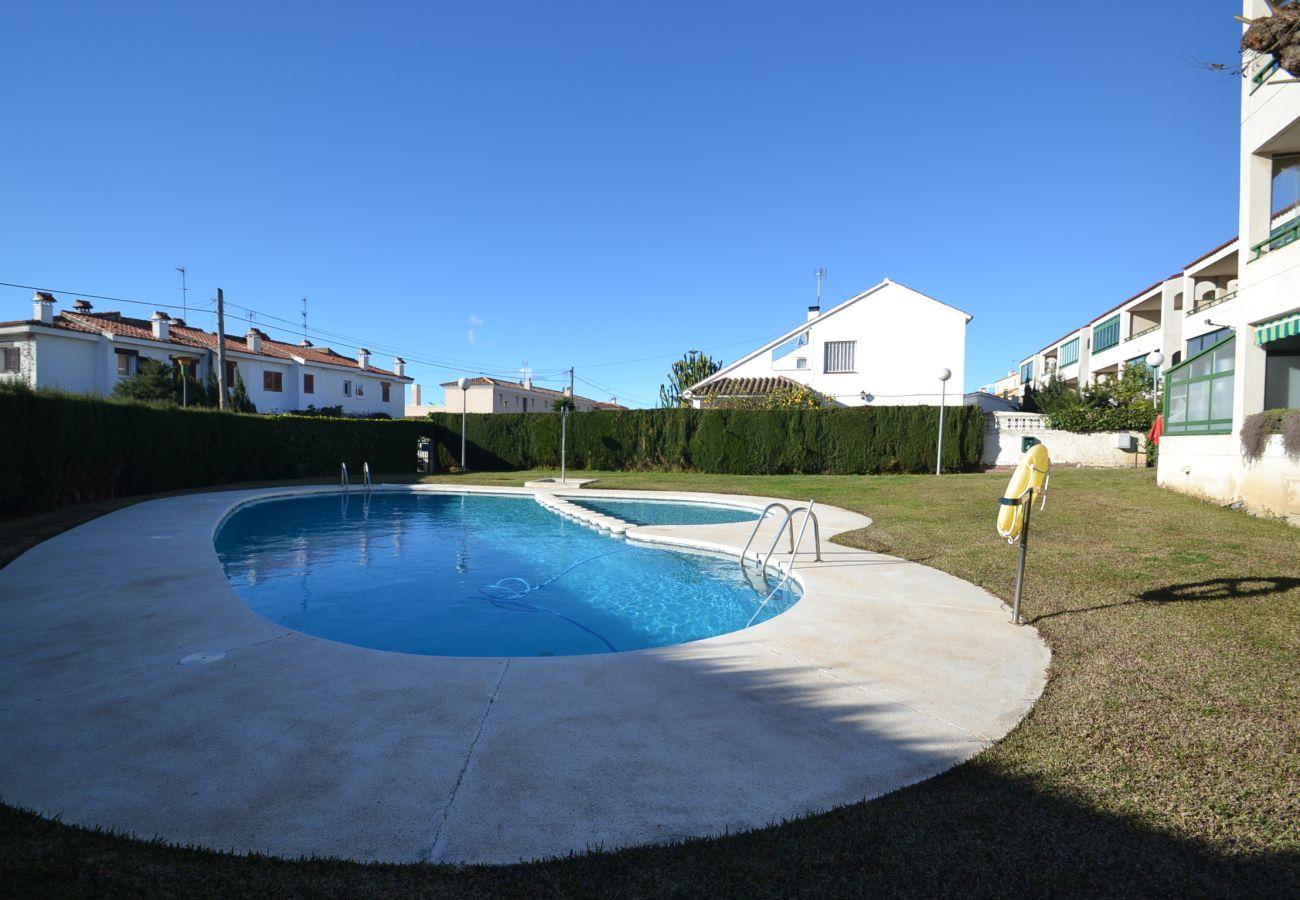 Appartement à Cambrils - Neucent:2Terrasses-Piscines-Proche plage Cambrils-Parking,satellite gratuit