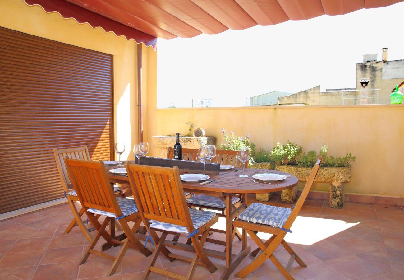 Maison à Muro - Can Monjo dúplex à la périphérie avec de belles vues 046