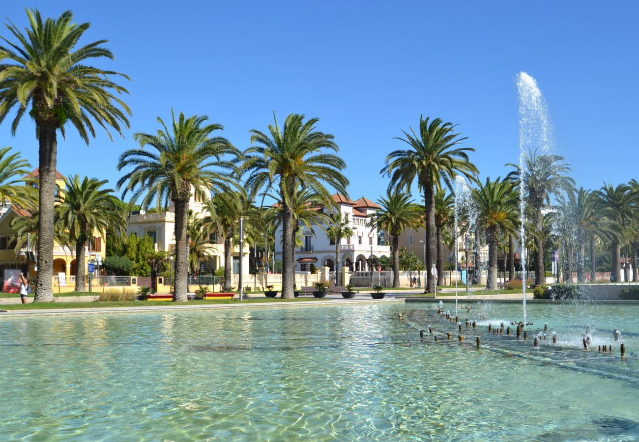 Appartement à Cambrils - Costa D'Or:1ère ligne mer Vilafortuny-Proche Cambrils et Salou-Wifi,AC,Linge gratuit