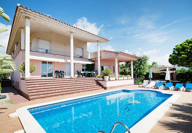 villa à Calafell - R14 Villa de 5 chambres avec vue sur la mer