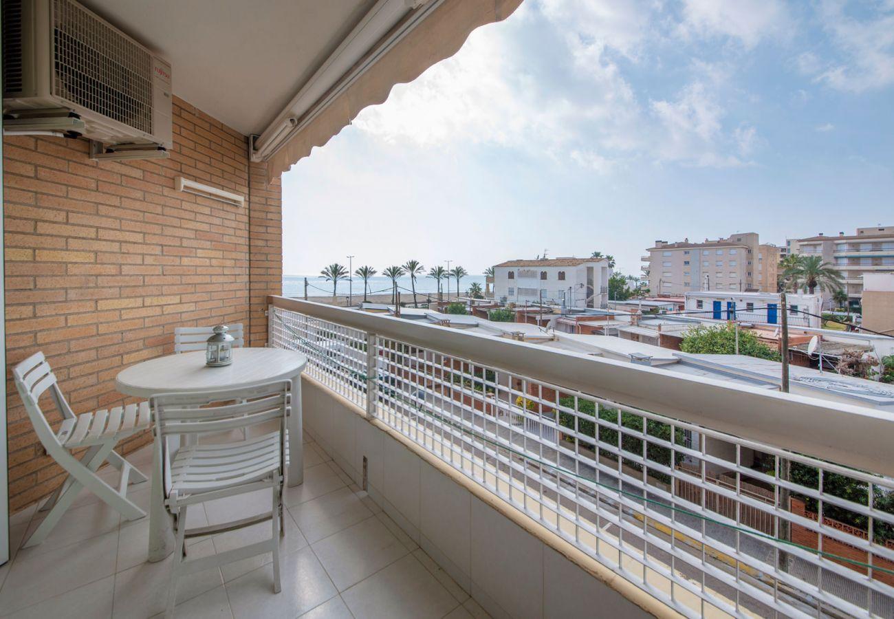 Appartement à Segur de Calafell - R98 Appartement en bord de mer avec terrasse à Calafell