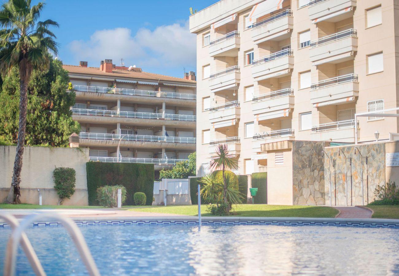 Appartement à Calafell - Appartement avec la terrasse et vue panoramique