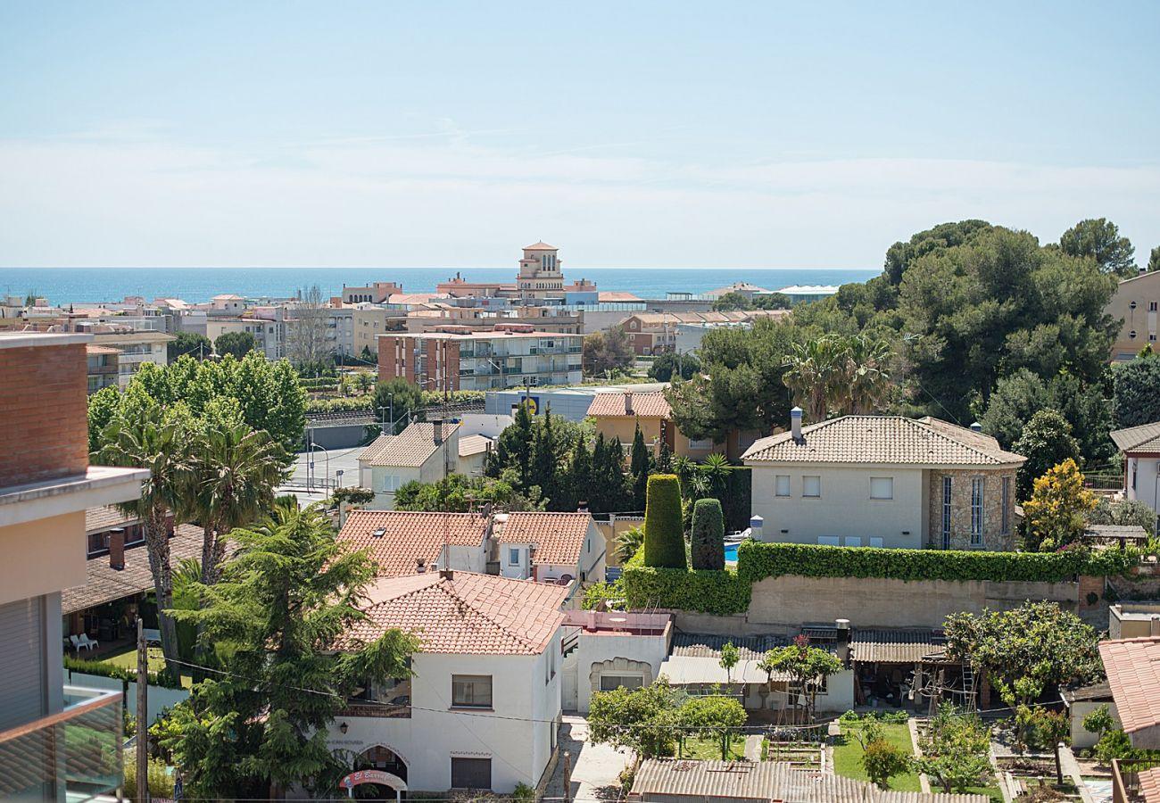 Appartement à Calafell - R34 Atico con piscina y vistas panoramicas