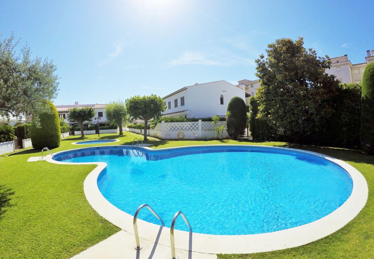 Maison mitoyenne à Calafell - R85 Maison mittoyen avec 2 piscines à 50m de la plage