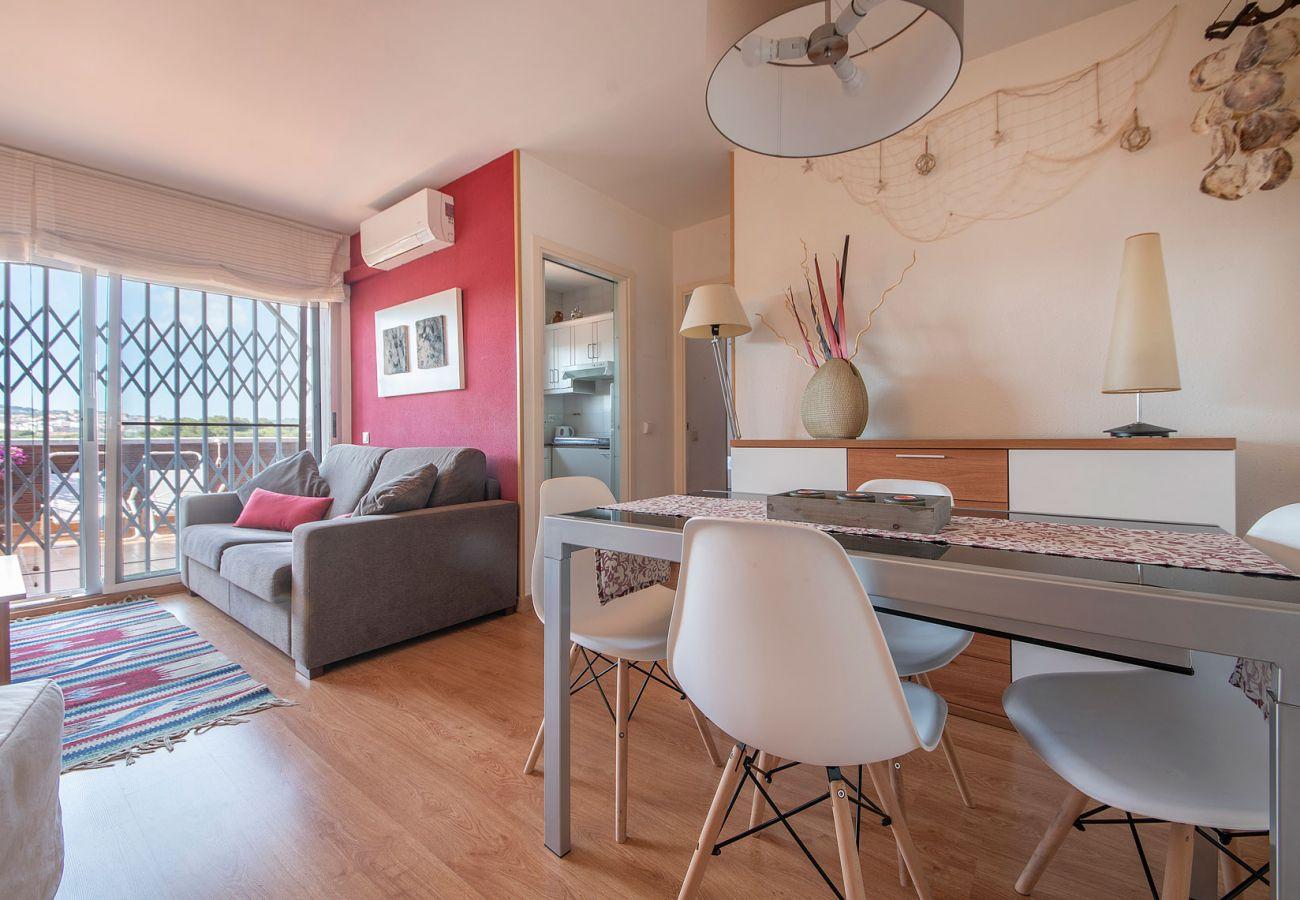 Appartement à Calafell - R89 Penthouse avec vue sur la montagne à Calafell playa