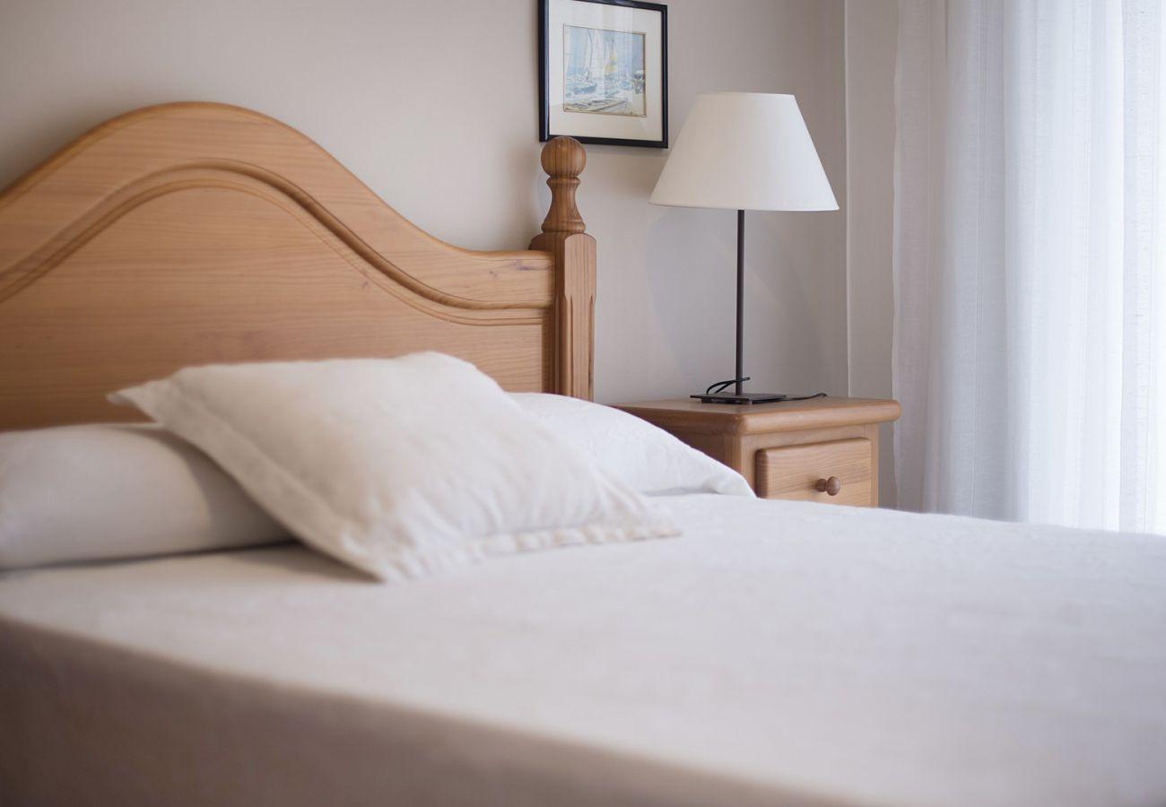 Апартаменты на Calafell - R28 3-комнатная квартира в 20 м от пляжа Калафель