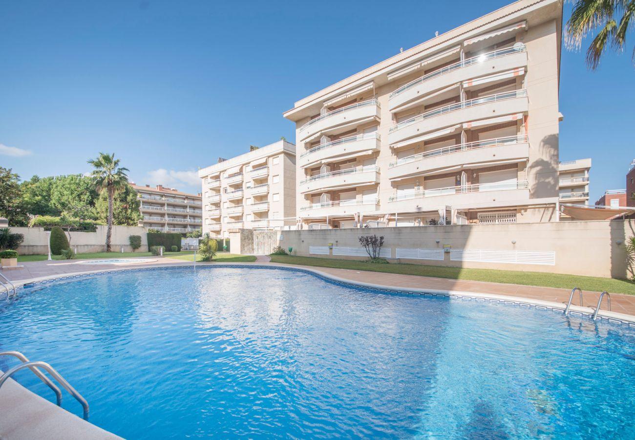 Апартаменты на Calafell - Квартира с террасой и панорамным видом