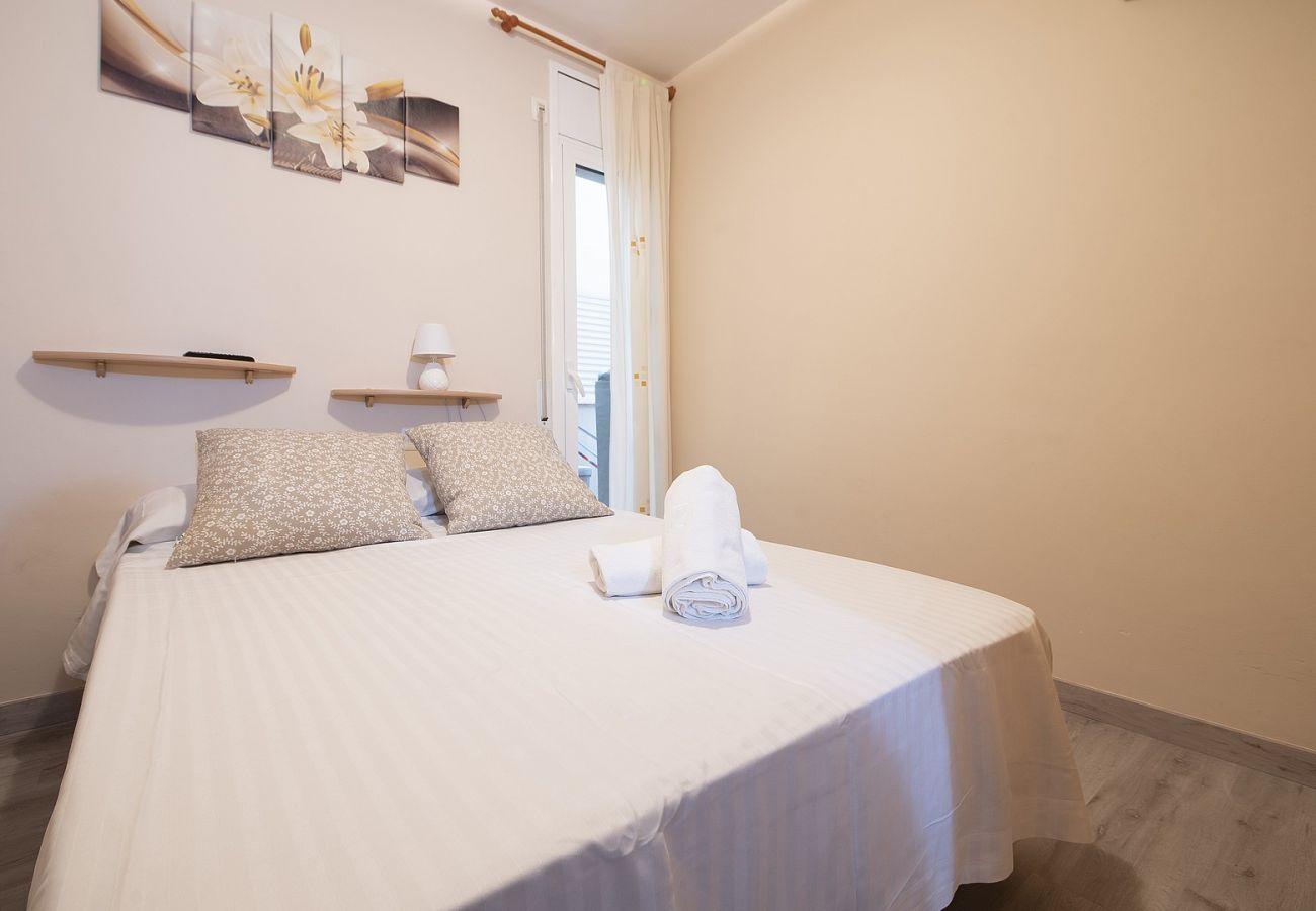 Апартаменты на Calafell - R95 Квартира на первом этаже в 50 м от пляжа