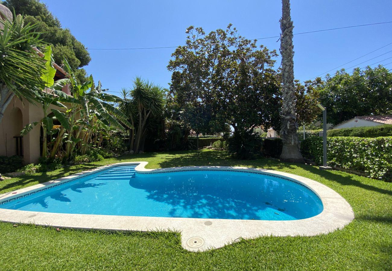 Вилла на Segur de Calafell - R84 Вилла с бассейном, теннисом и садом в 1 км от пляжа