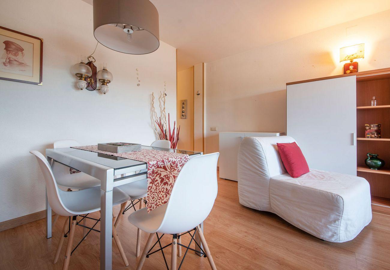 Апартаменты на Calafell - R89 Пентхаус с видом на горы в Калафель Плайя