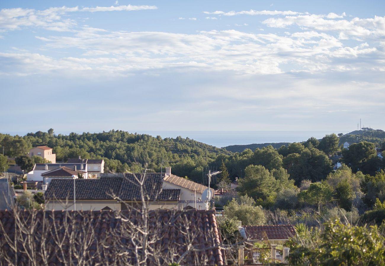 Вилла на Calafell - Коттедж на 8 человек с панорамным видом