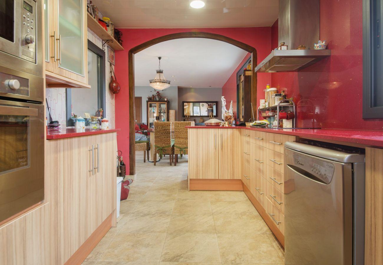 Вилла на Calafell - R58 Одноэтажный дом в 3 км от пляжа