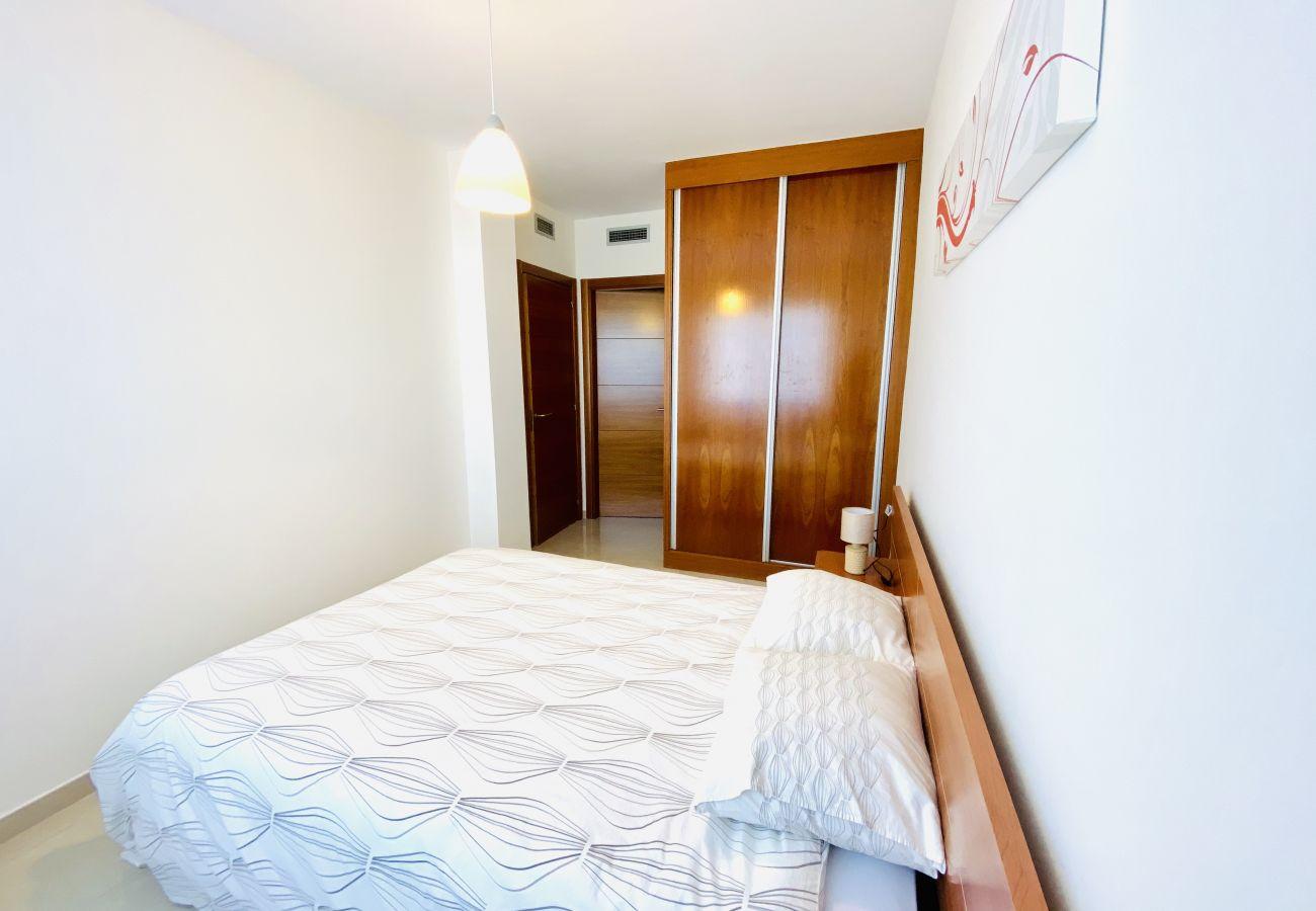 Апартаменты на Calafell - R111 Apartment Estany с бассейном и панорамным видом