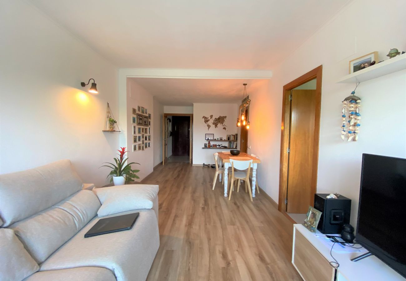 Апартаменты на Calafell - R120 Квартира в 50 м от пляжа в Калафеле